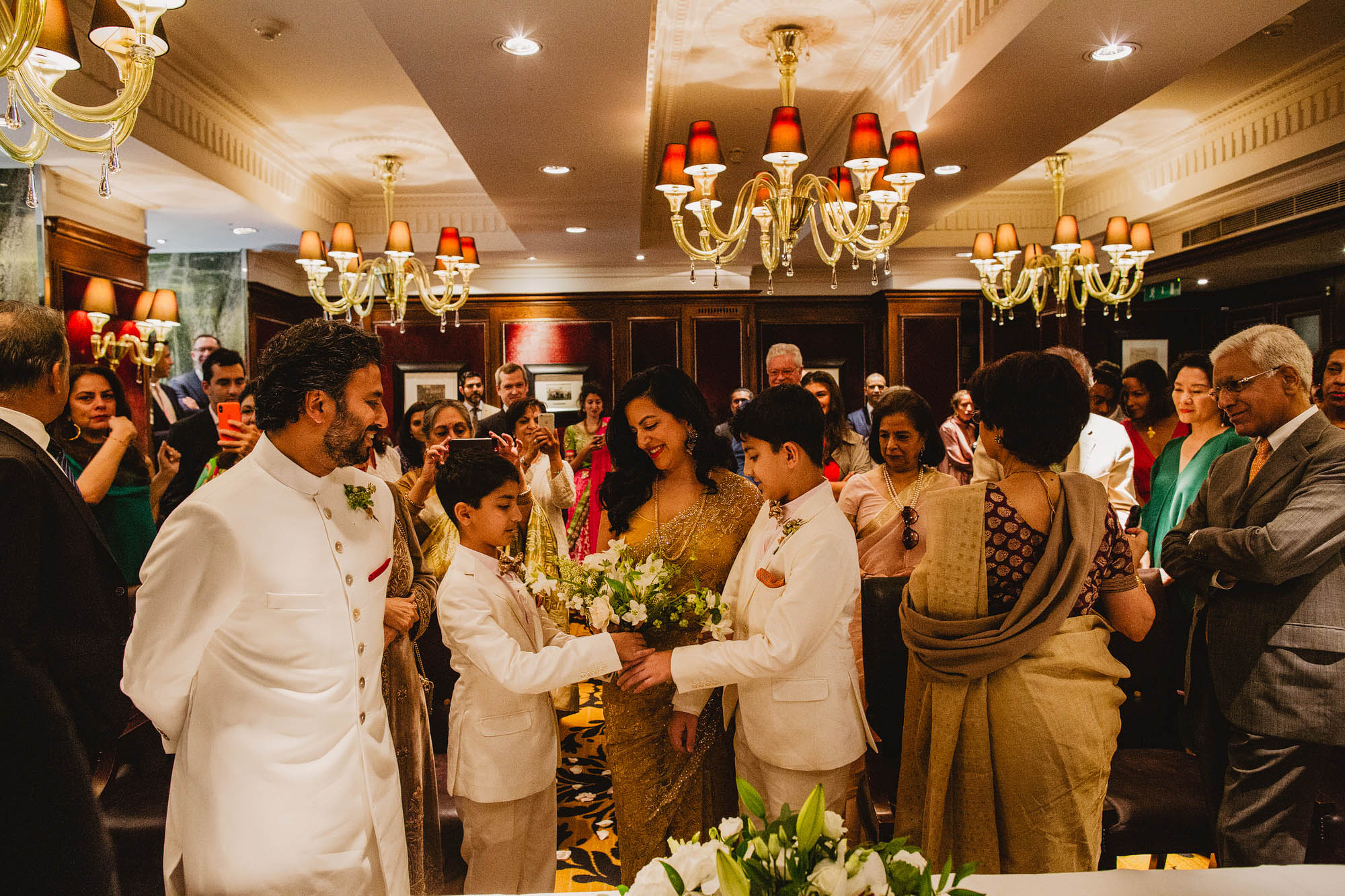 Goring hotel London wedding 15