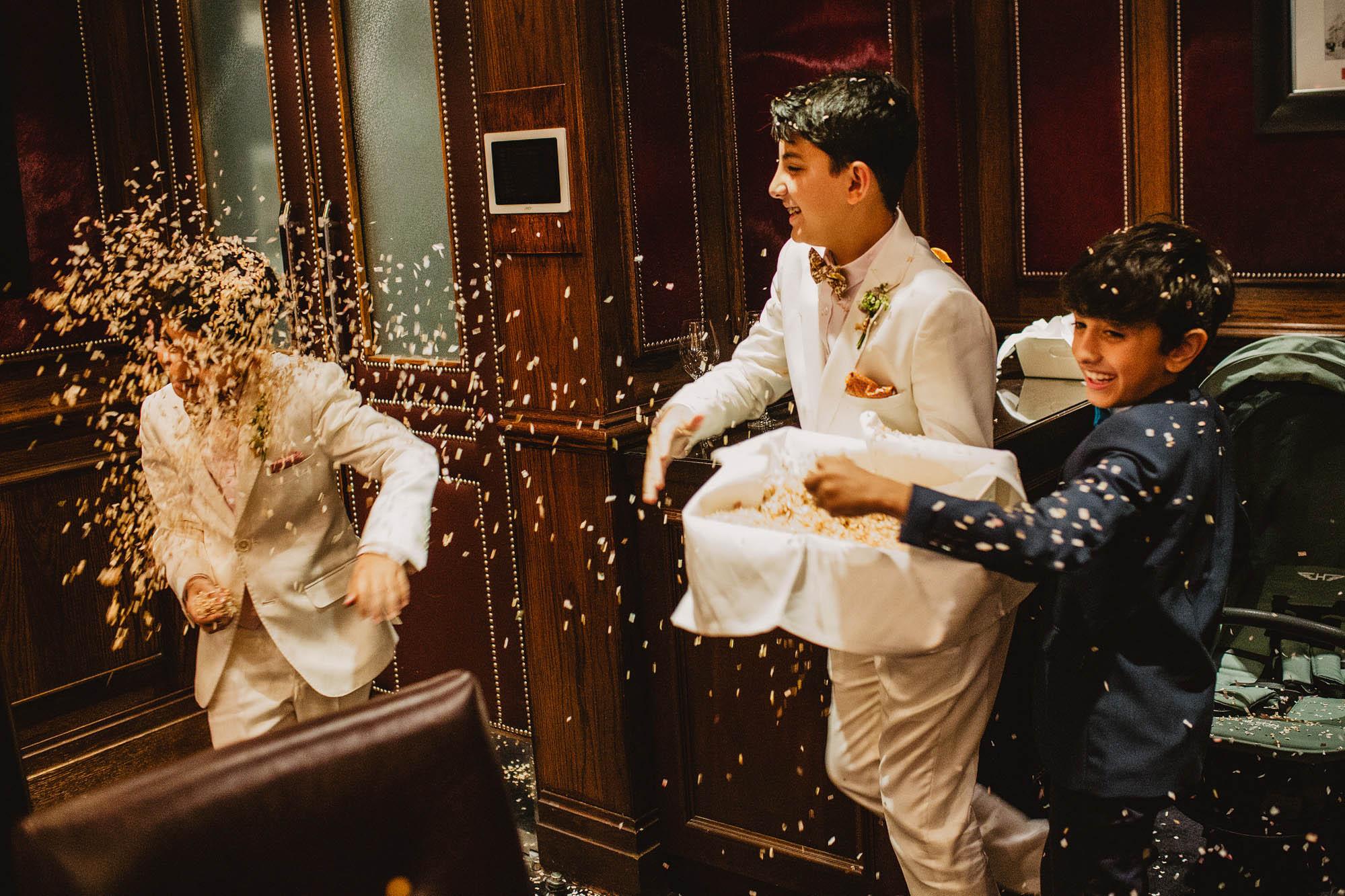 Goring hotel London wedding