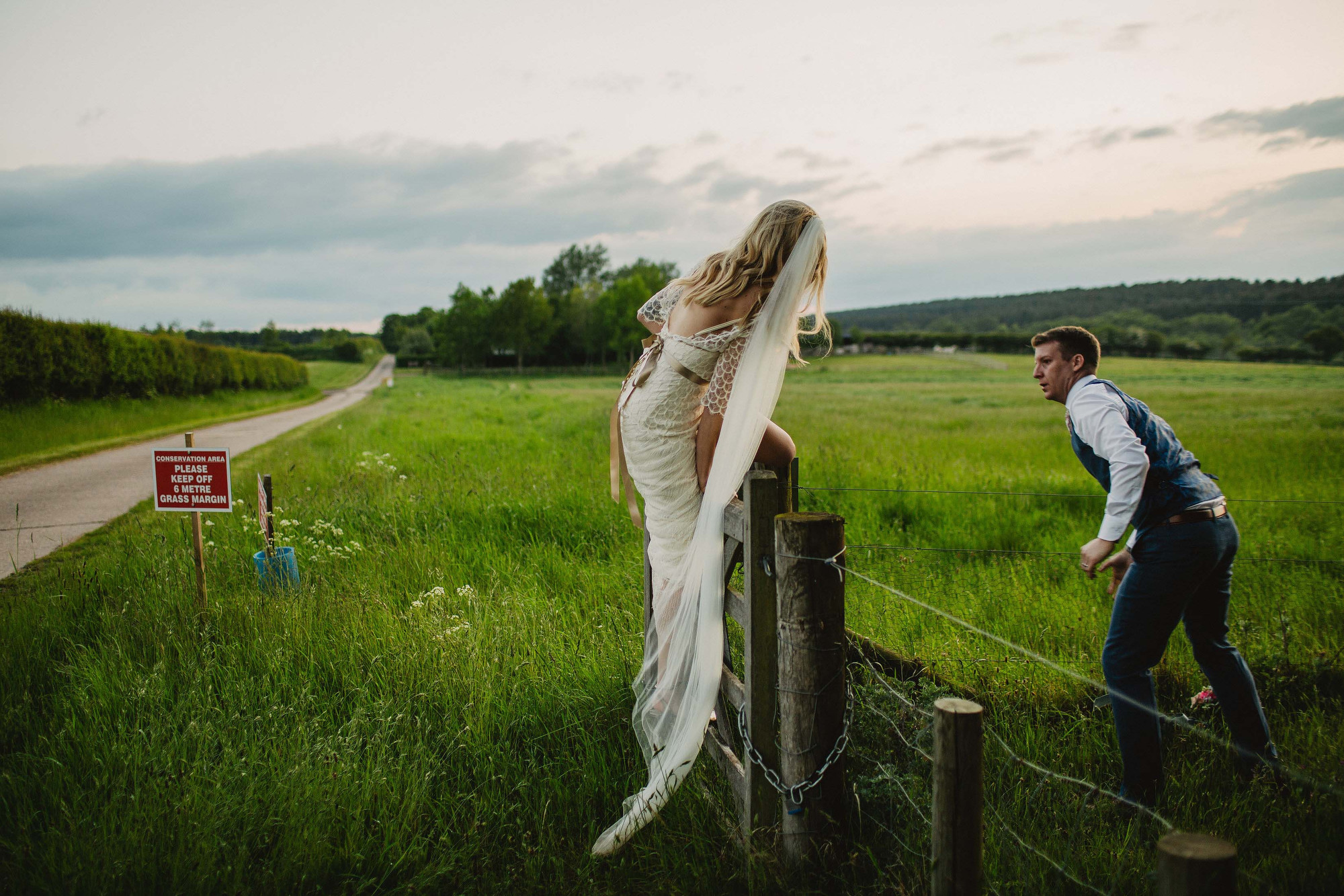 weddings at Inkersall farm