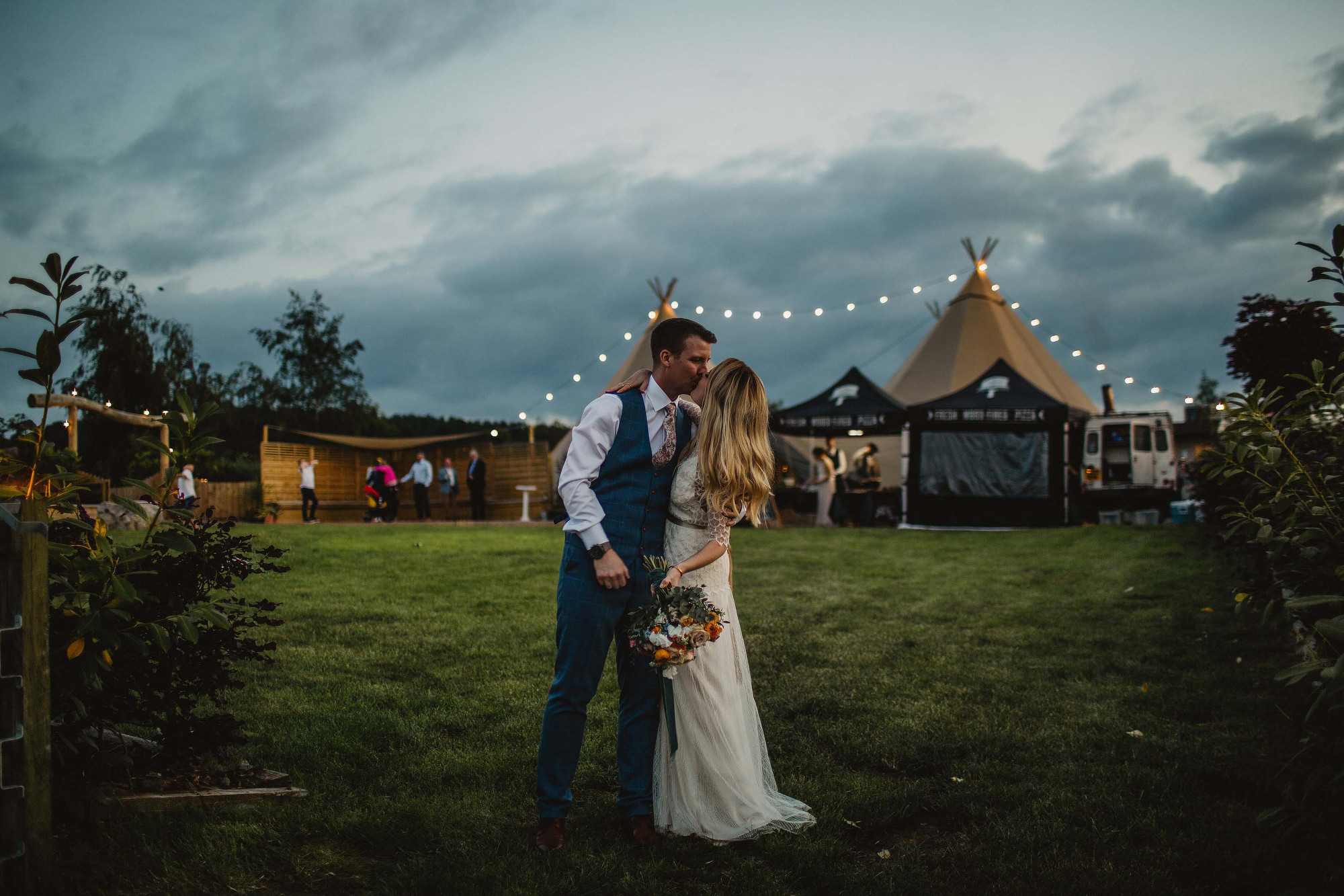 Inkersall Grange farm wedding