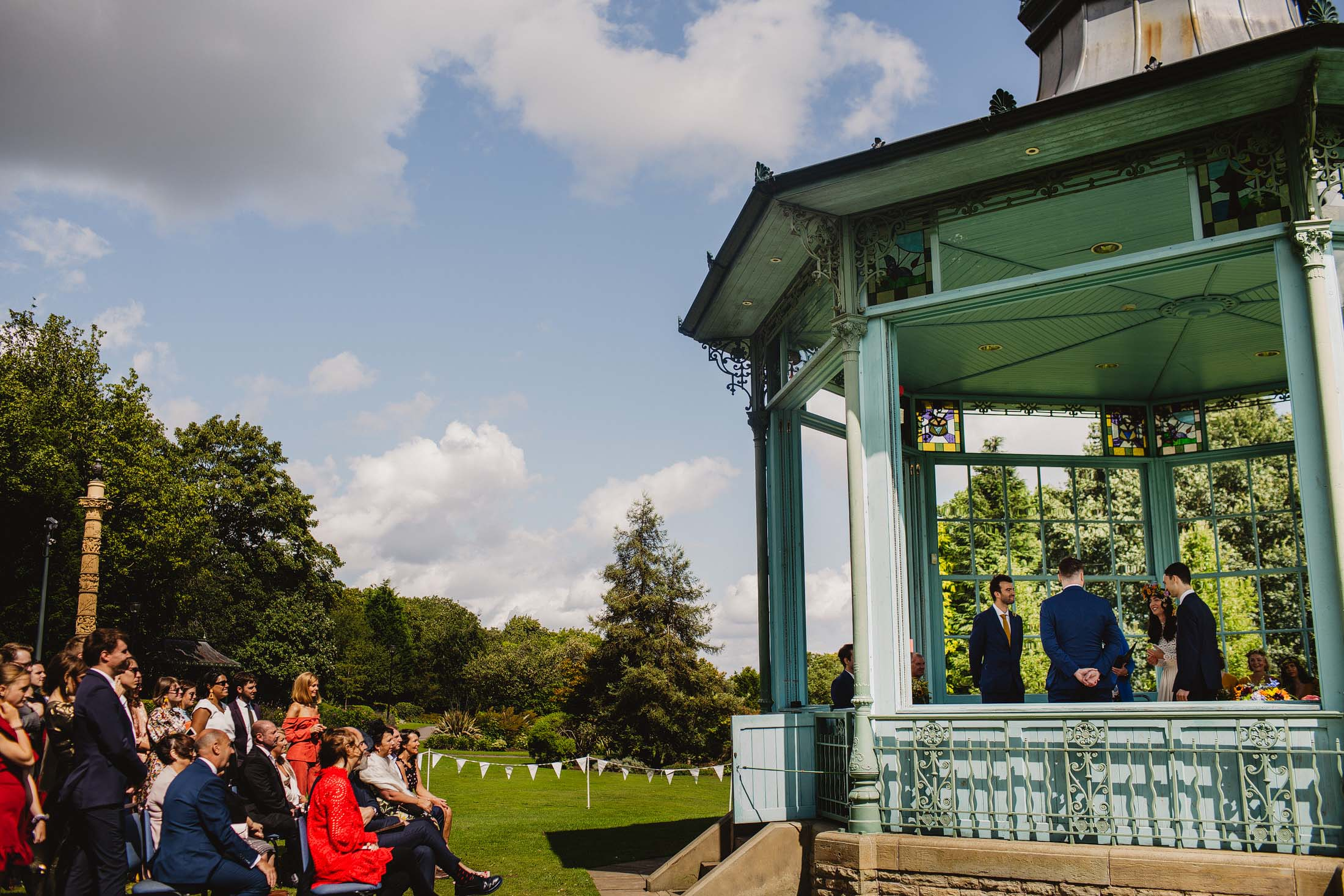Sheffield bandstand the hide wedding