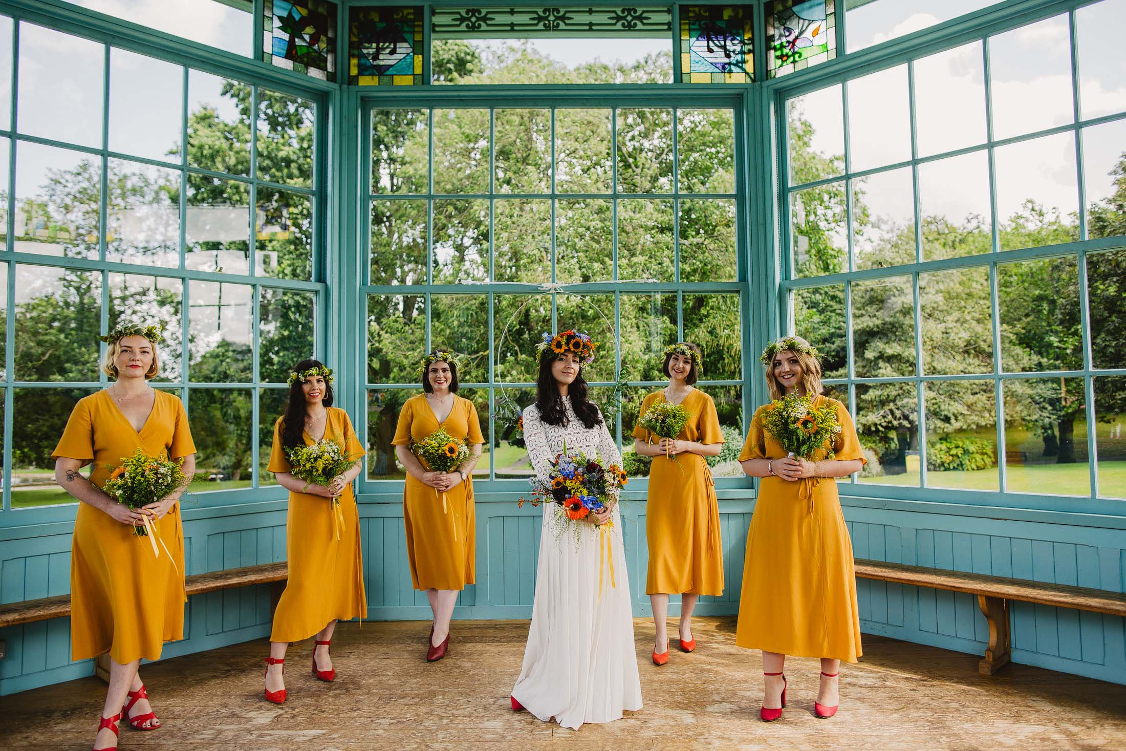 Sheffield bandstand wedding