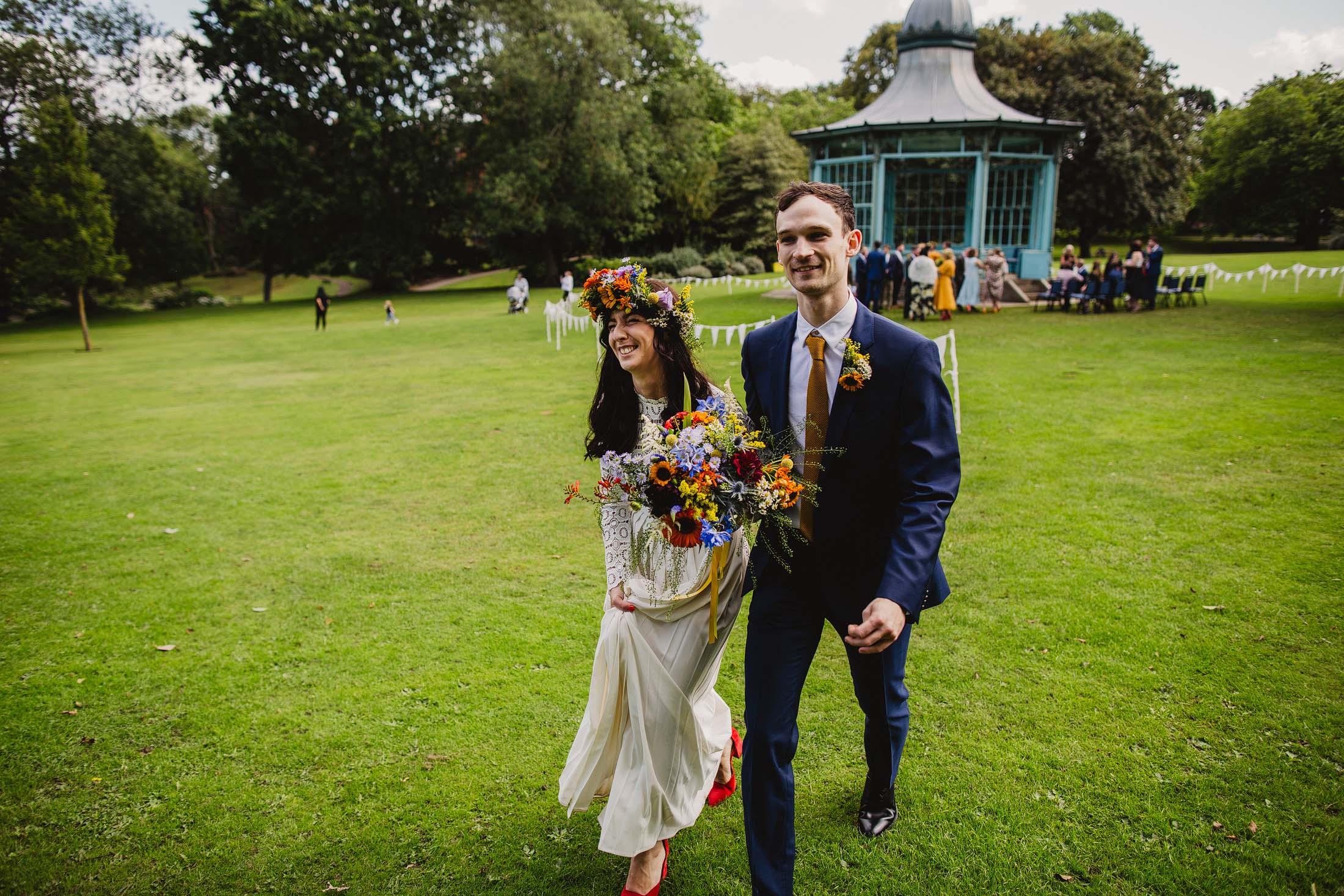 Weston park sheffield wedding