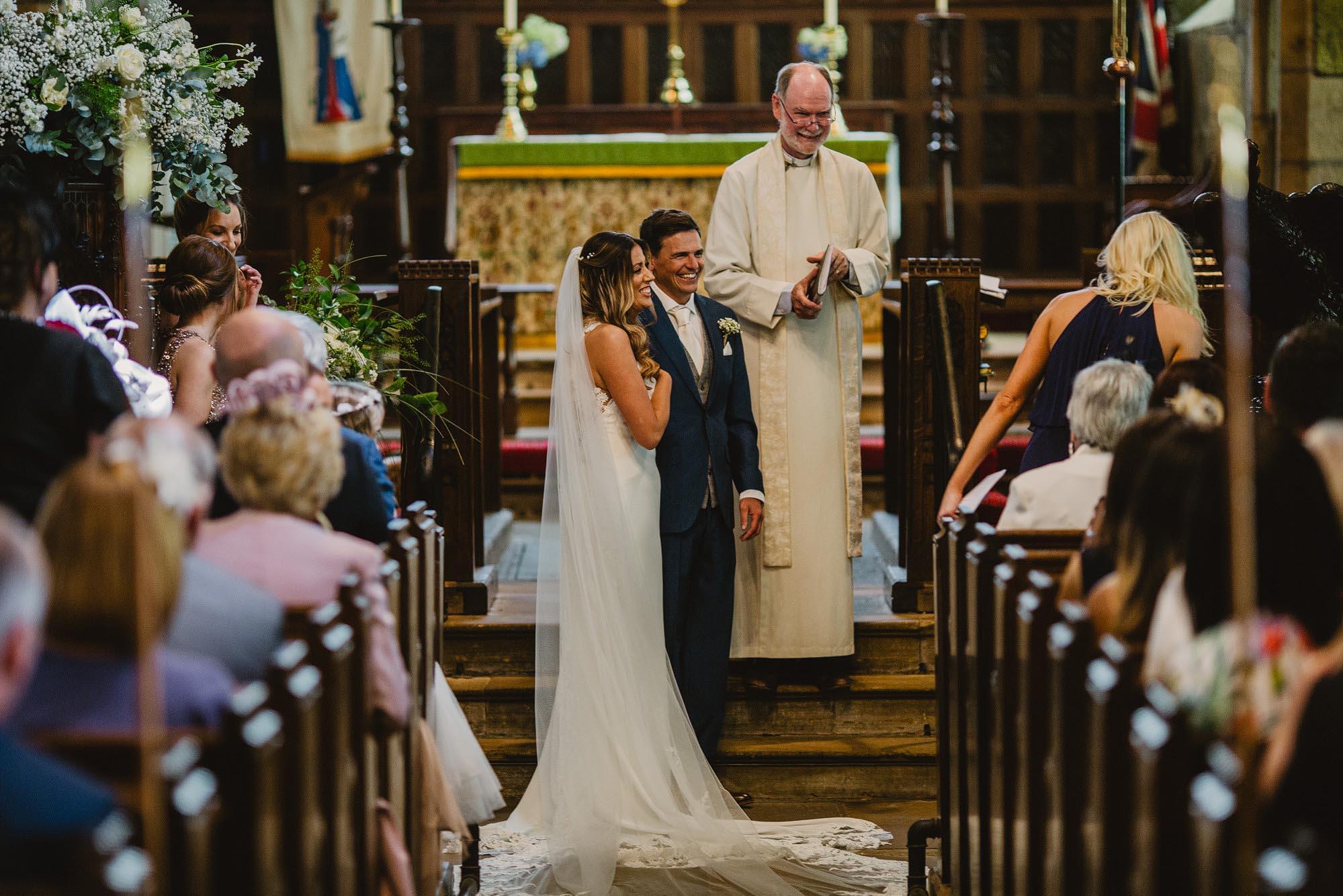 weddings at Bradfield church
