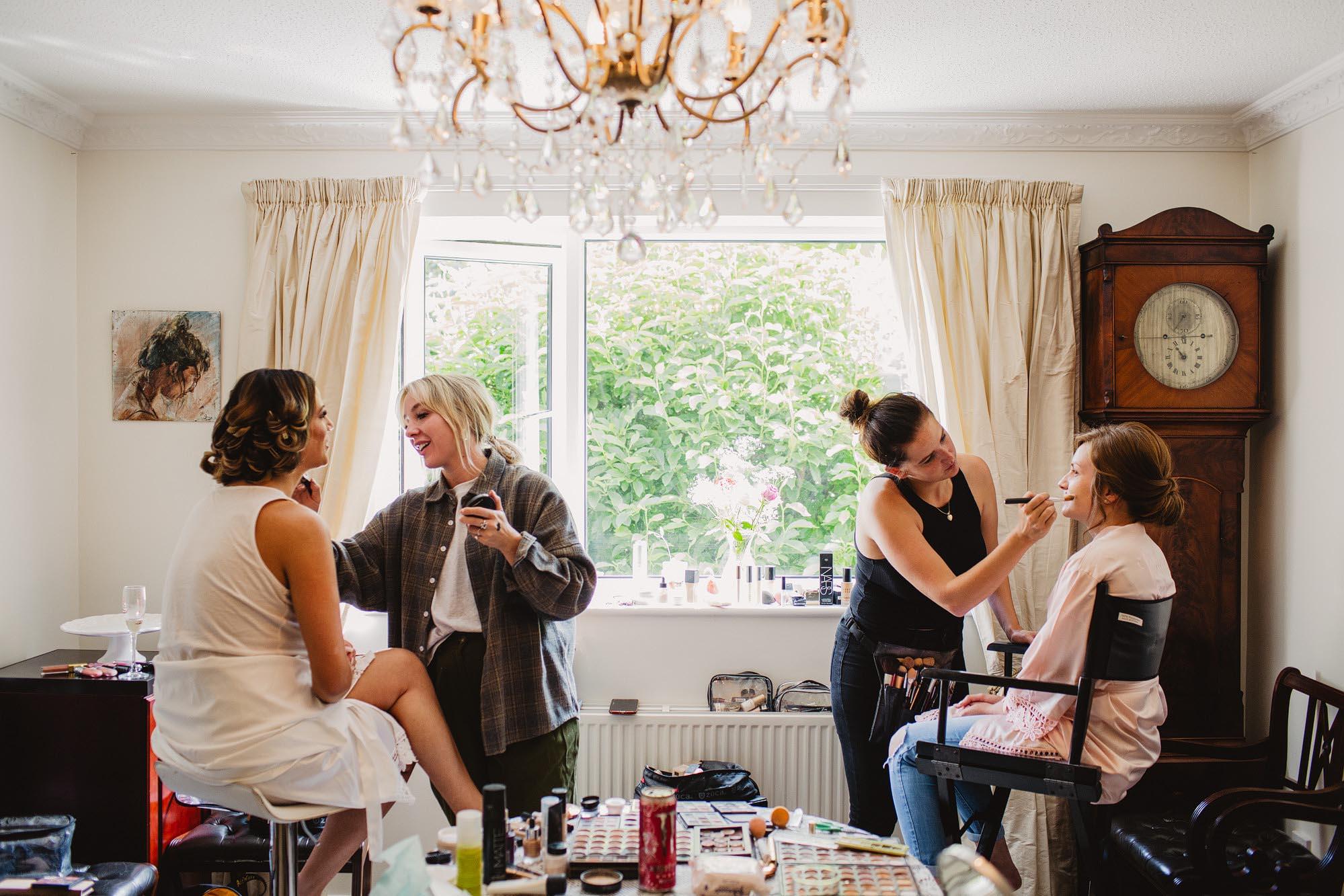 Sheffield makeup artist for weddings