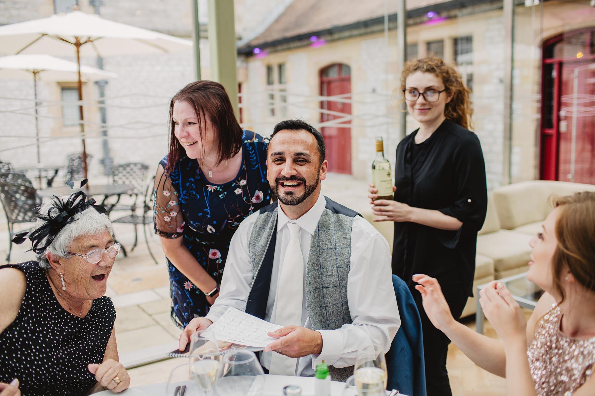 Thornbridge hall wedding
