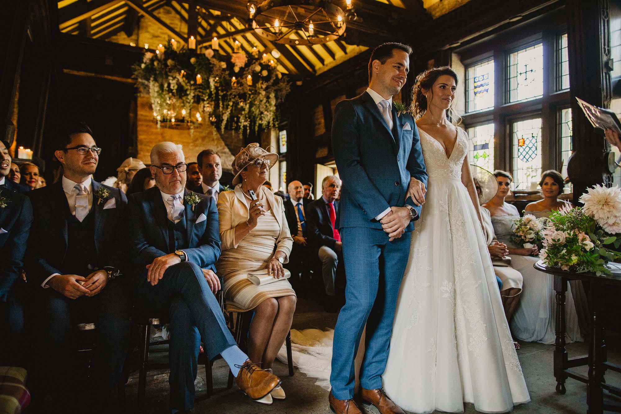 wedding at upper hayfield house