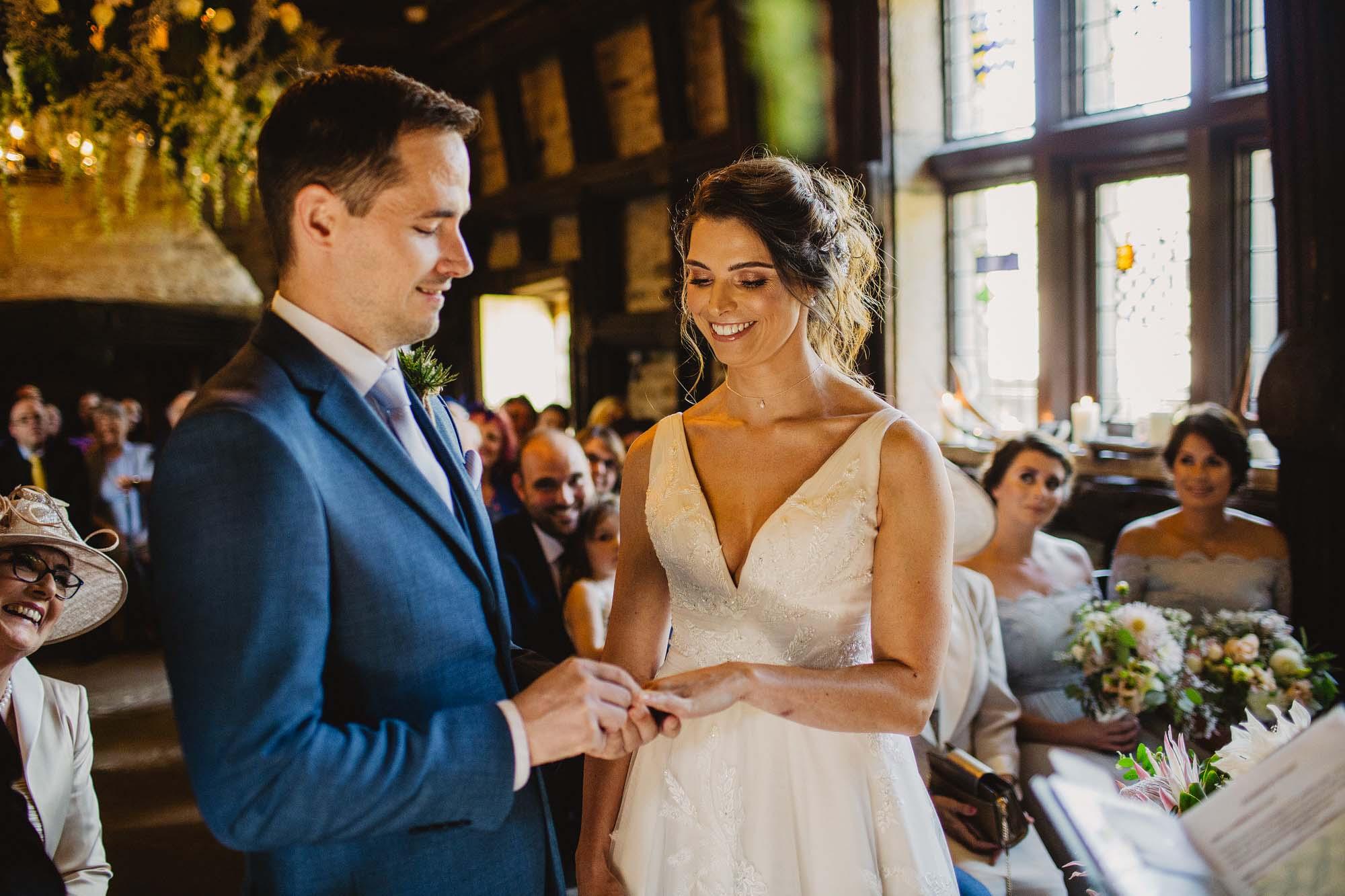 Upper house Hayfield wedding