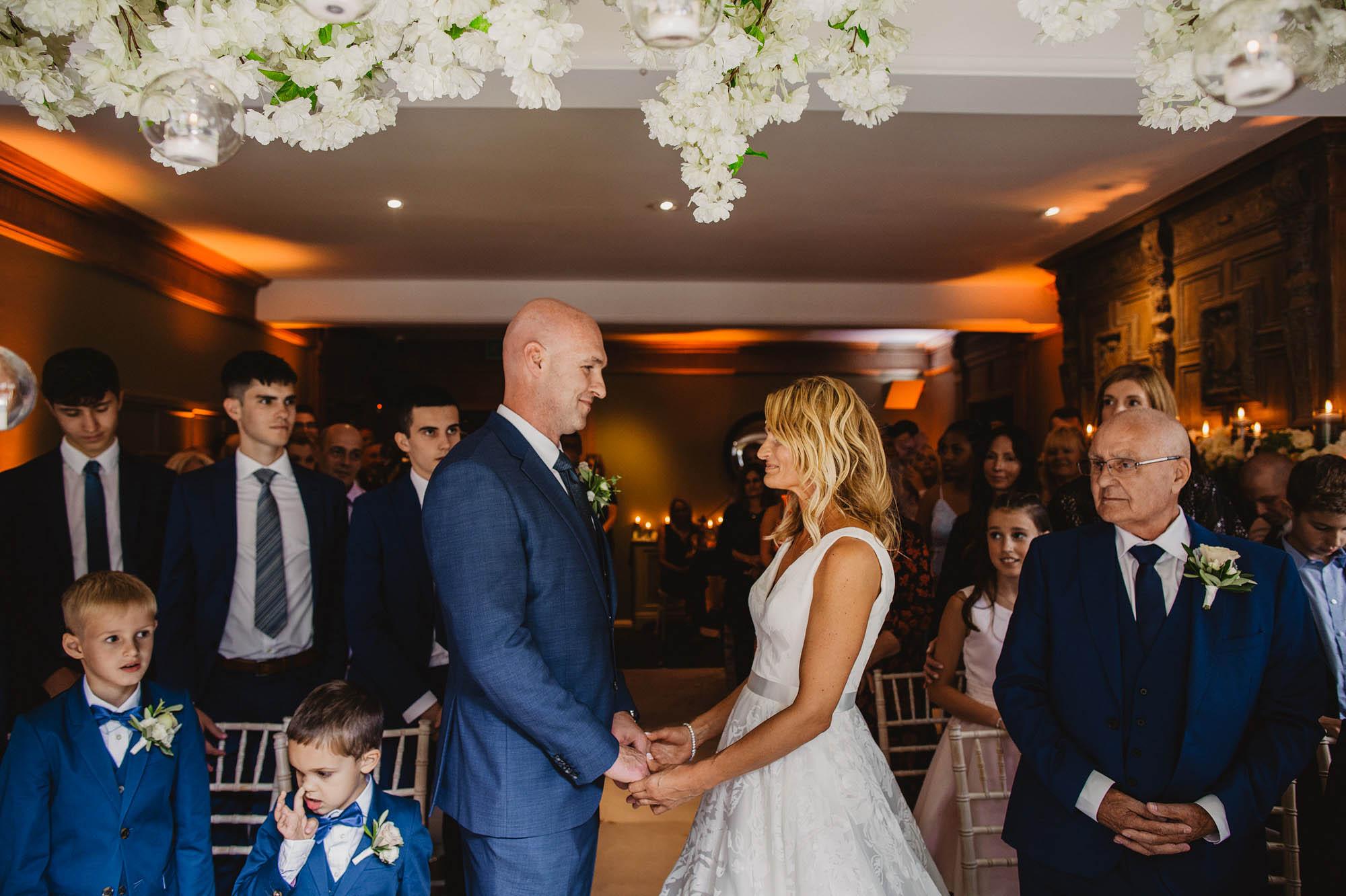 wedding at whirlowbrook hall