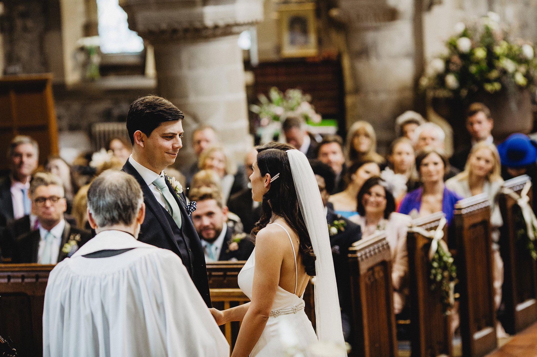 all saints church youlgreave wedding