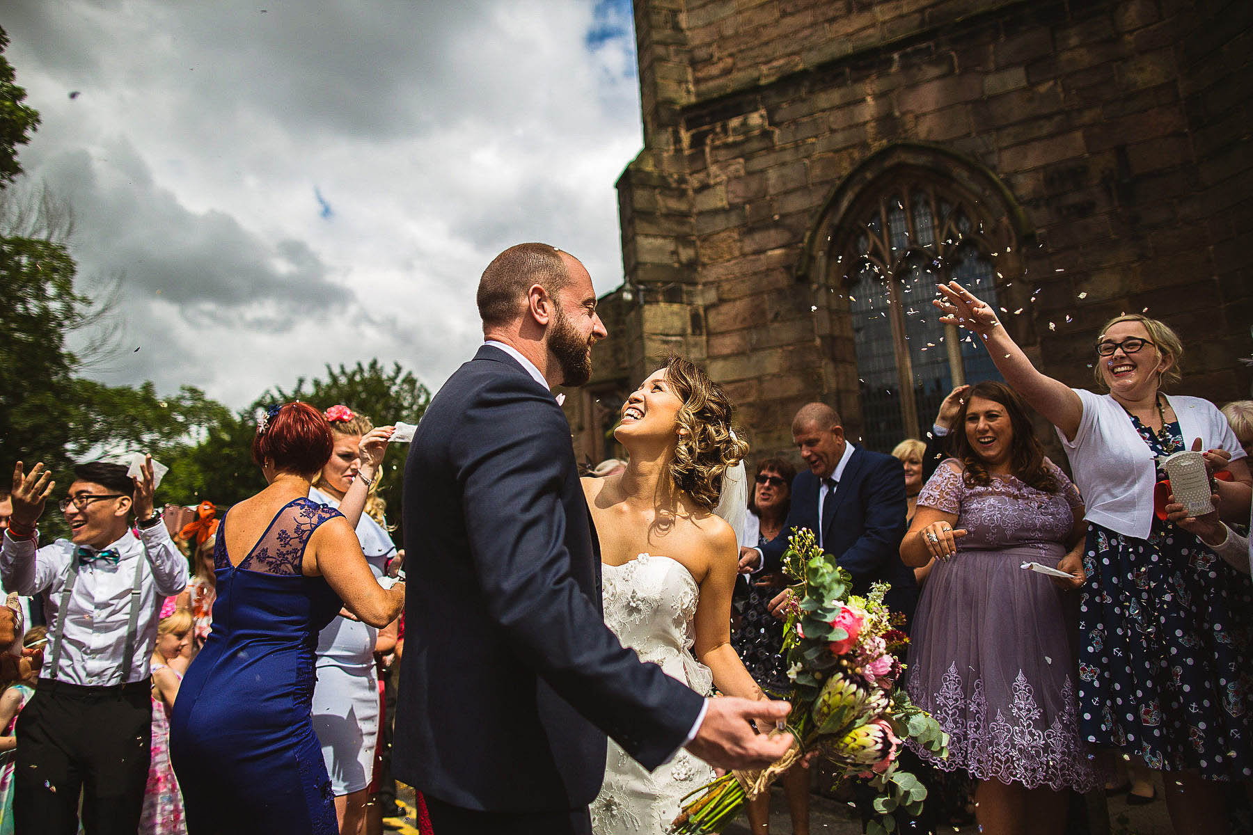 Sheffield church wedding