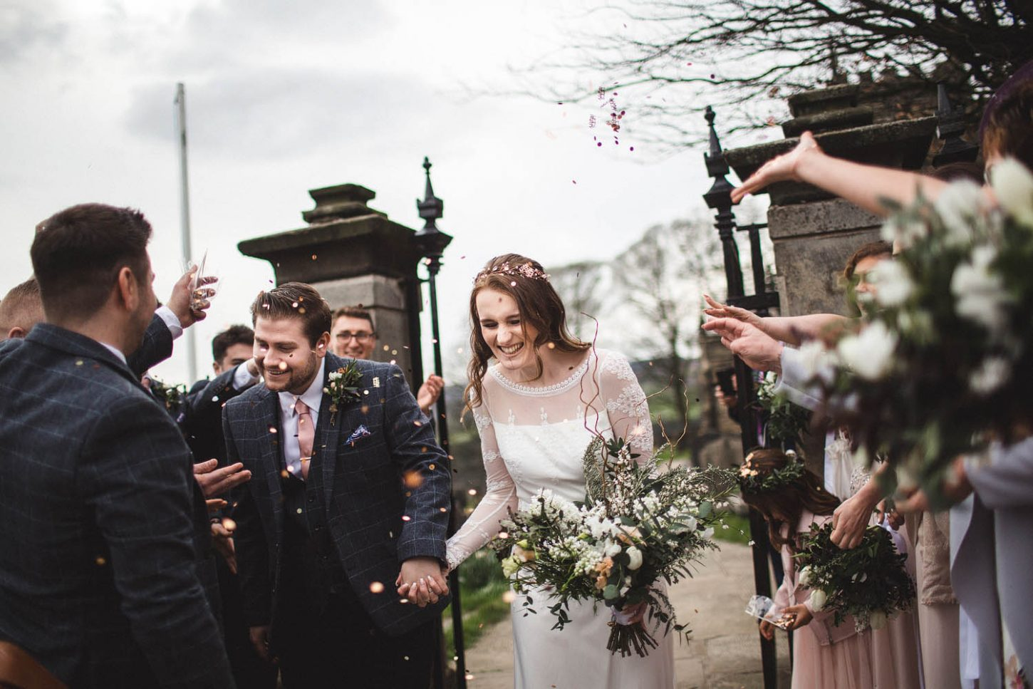 Bradfield church wedding